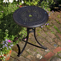 Ella Bistro Table - Antique Bronze