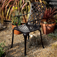 Emma Chair - Antique Bronze