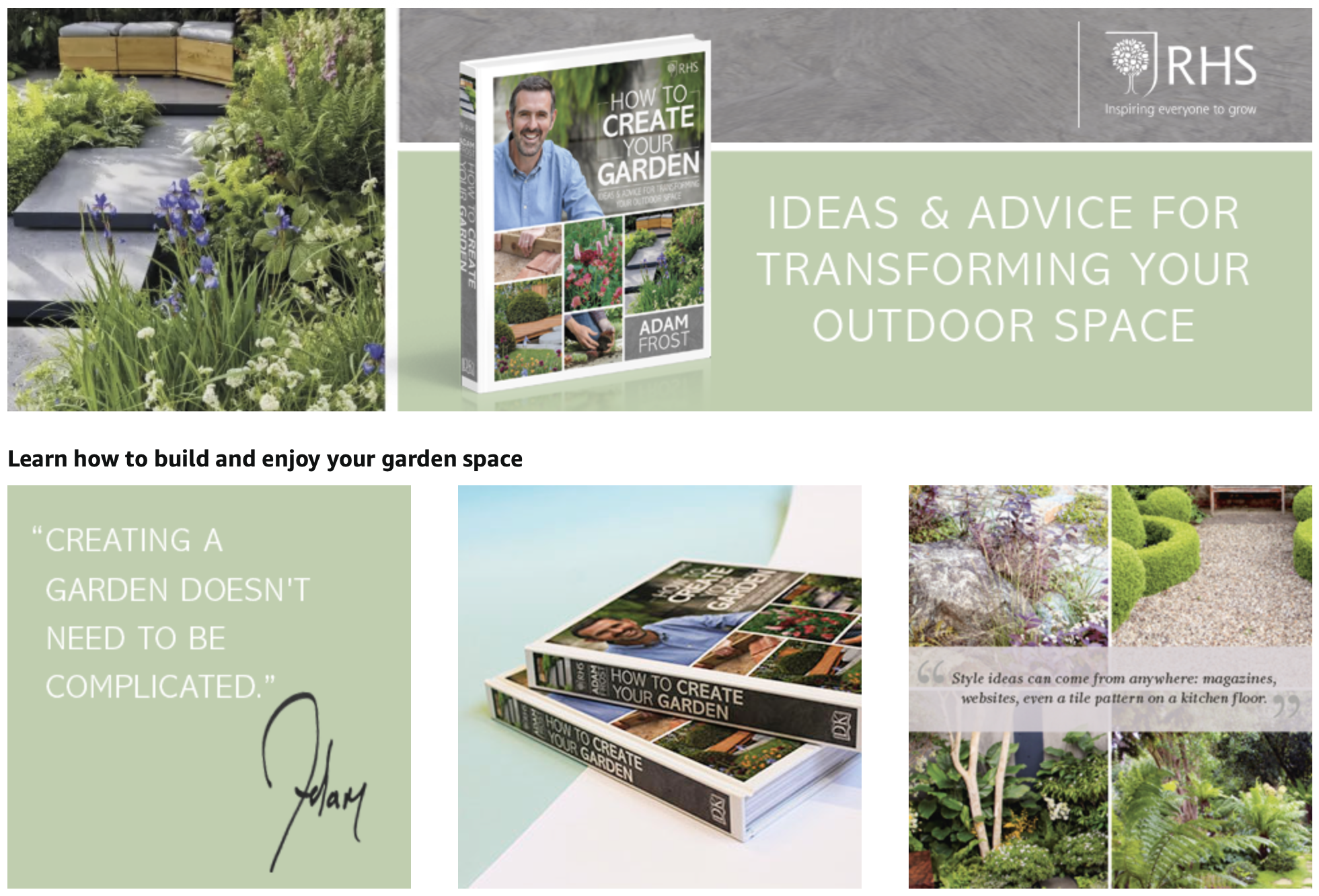 How to create your garden...