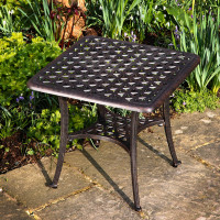 Sandra Table - Antique Bronze