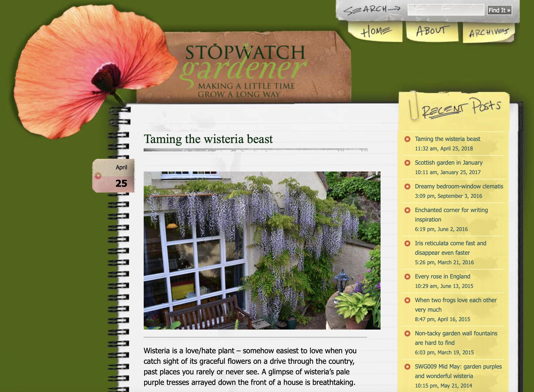 Stopwatch Gardener