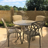 Hannah Table - Sandstone (4 seater set)