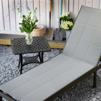 Michelle Lounger - Antique Bronze & Champagne
