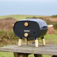 Firepod Pizza Oven - Graphite Black