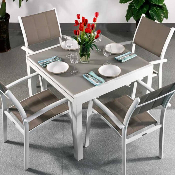 Modern_Compact_White_Champagne_4_Seater_Metal_Weatherproof_Extending_Garden_Glass_Top_Dining_Table_Set_2