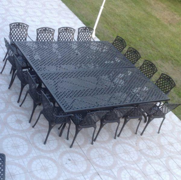 Madison 16 Seater Garden Furniture Set