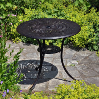 Anna Table - Antique Bronze