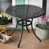 Hannah Table - Antique Bronze