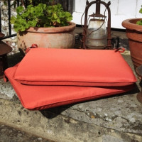 Seat Pad Cushion - Terracotta
