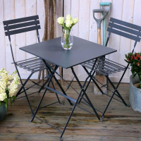 Zara Bistro Set - Grey (2 seater set)