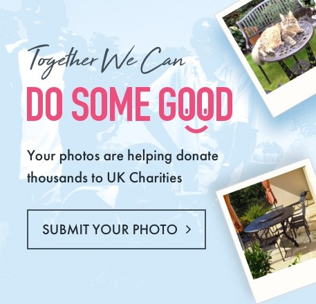Together we can do some good. Your photos are helping to donate thousands to UK Charities.