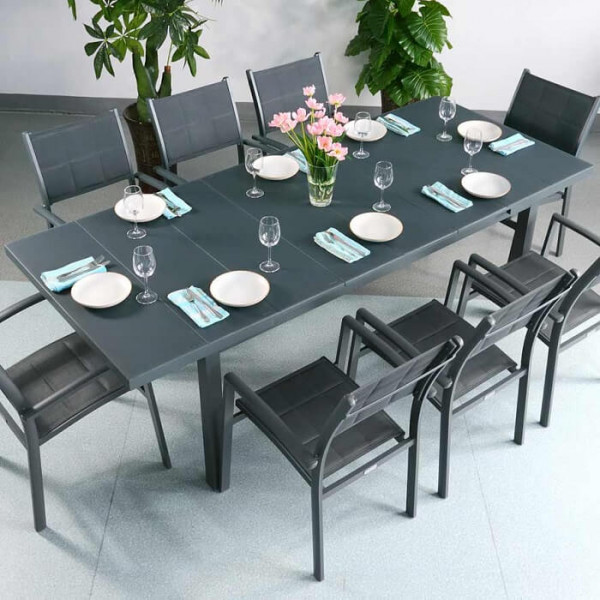 Large_8_Seater_Modern_Grey_Automatic_Extension_Dining_Table_Metal_Glass_Garden_Furniture_Set_1