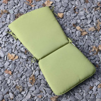 Curve Back Cushion - Green