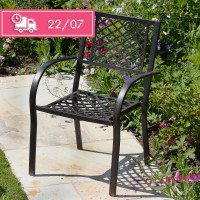 Jane Chair - Antique Bronze