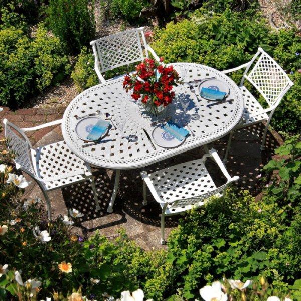 June Table - White (4 seater set)