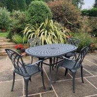 June Table - Slate (4 seater set)