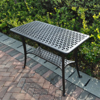 BBQ Table - Antique Bronze