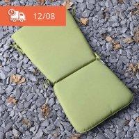 Curve Back Cushion - Green