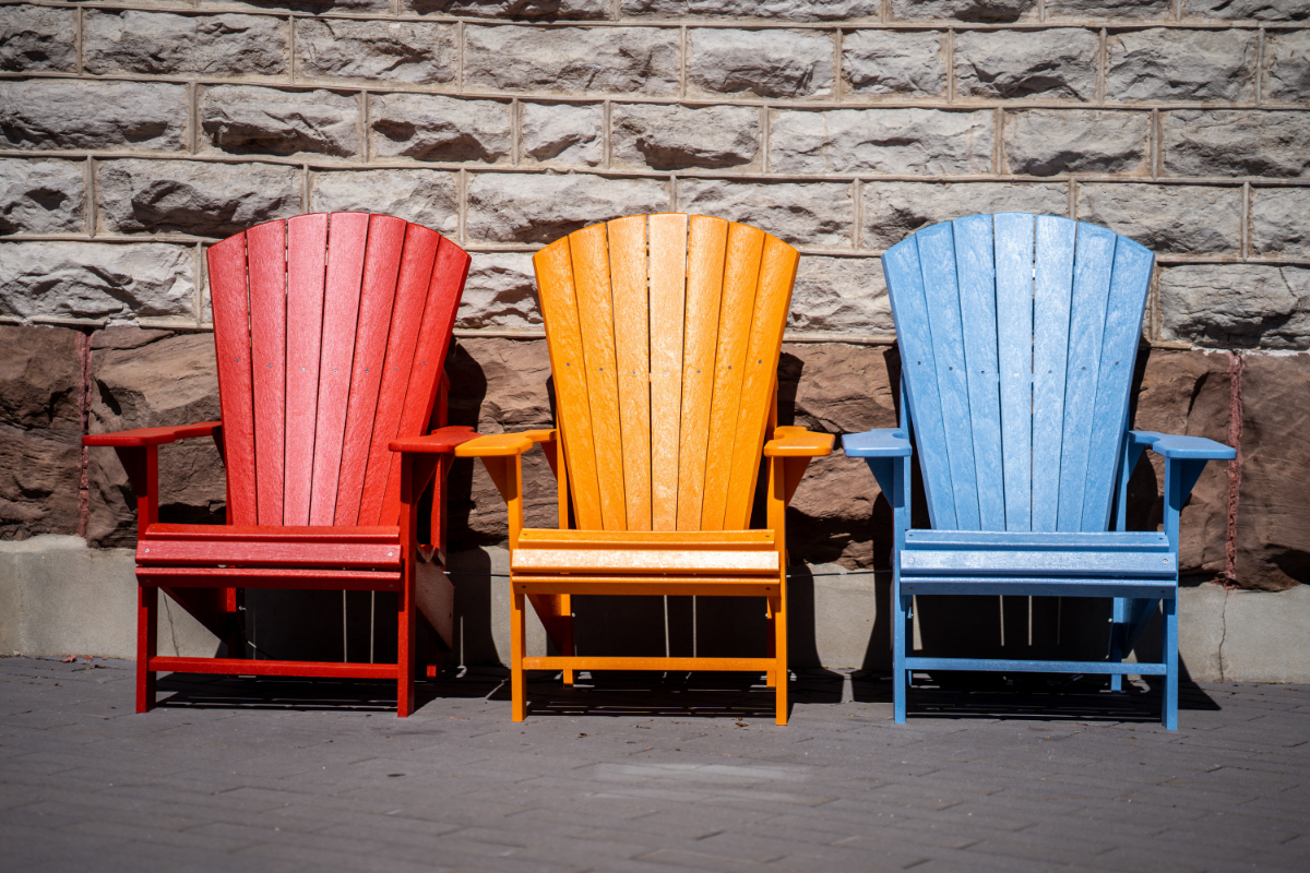 Painted Wooden Garden Furniture