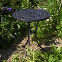 Eve Bistro Table - Antique Bronze
