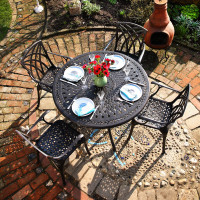 Alice_4_seater_cast_metal_aluminium _garden_table_set_1