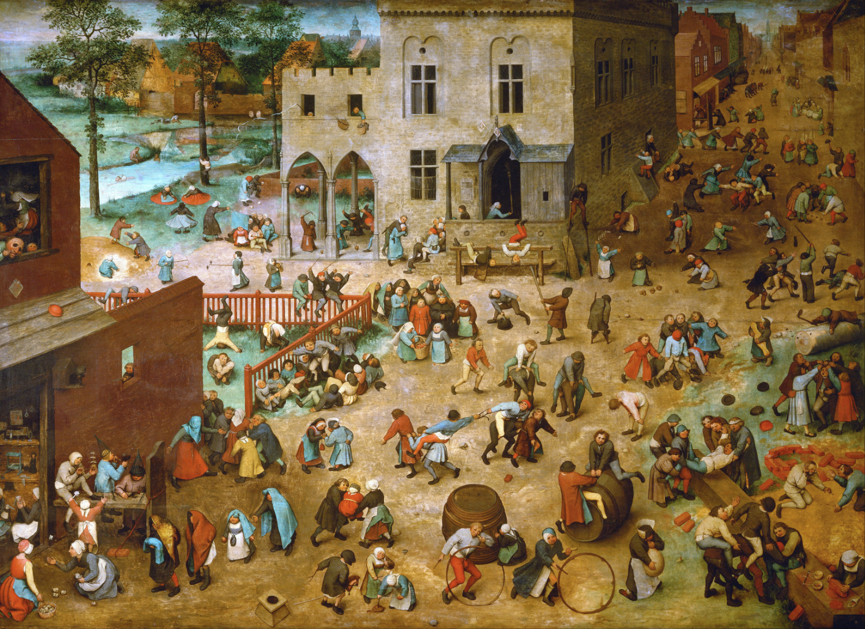 Children's Games by Pieter  Brueghel