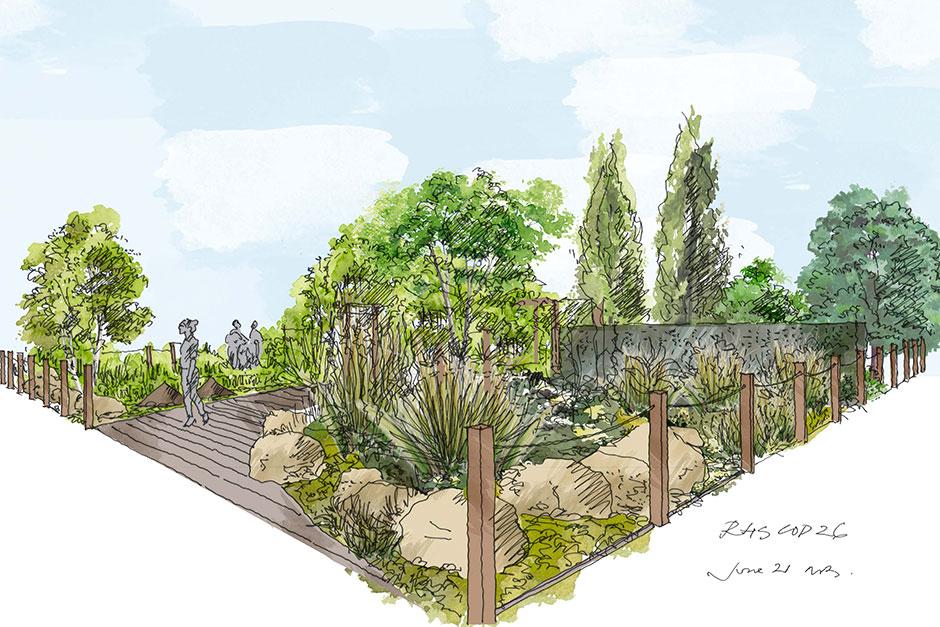 RHS COP26 Garden