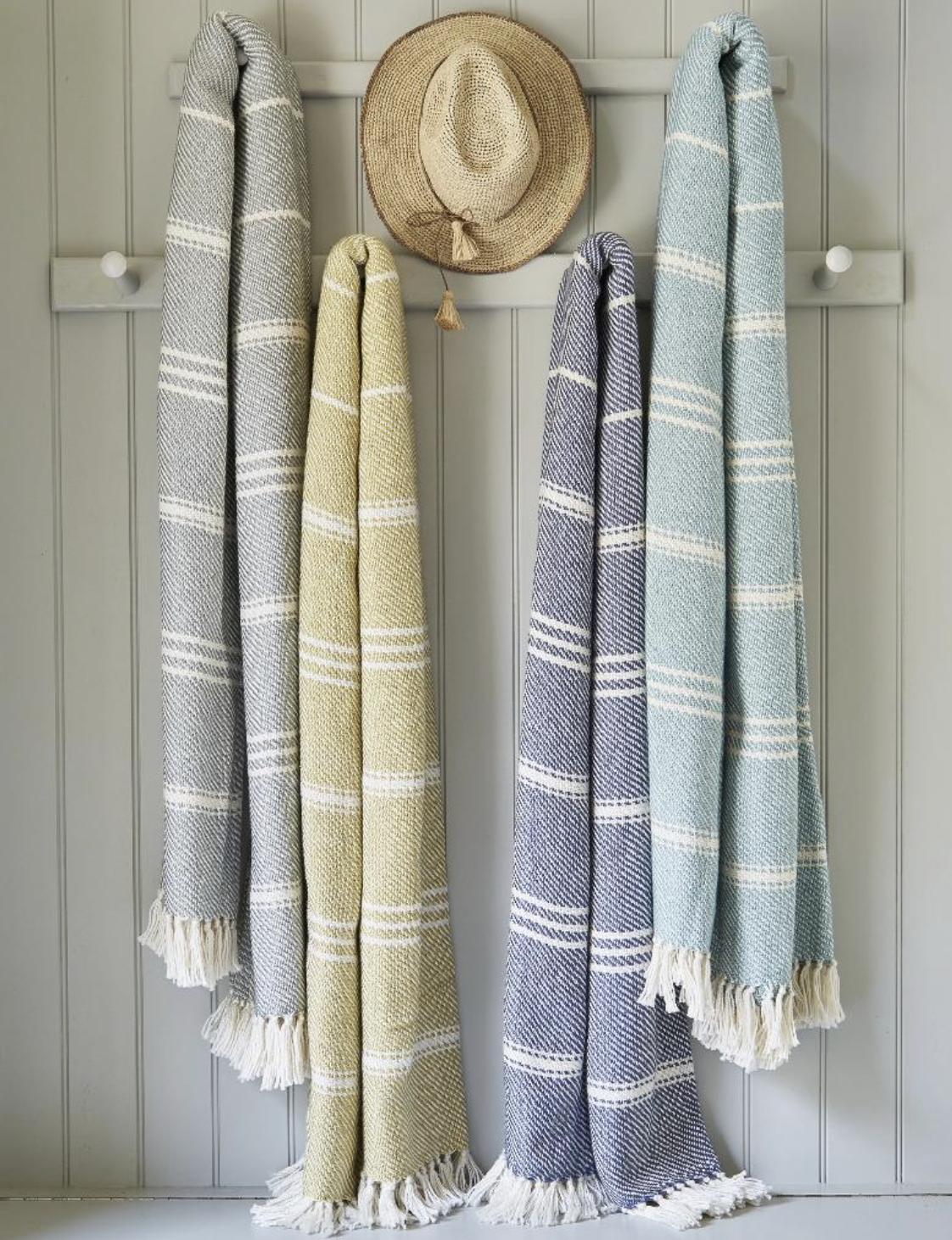 Weaver Green Outdoor Blankets