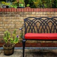 April Bench - Antique Bronze