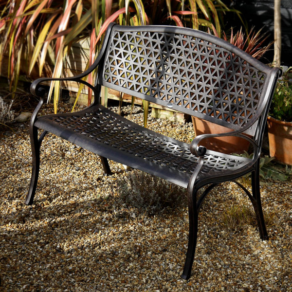 July_Self_Assembly_Metal_Garden_Bench_Cast_Aluminium_1