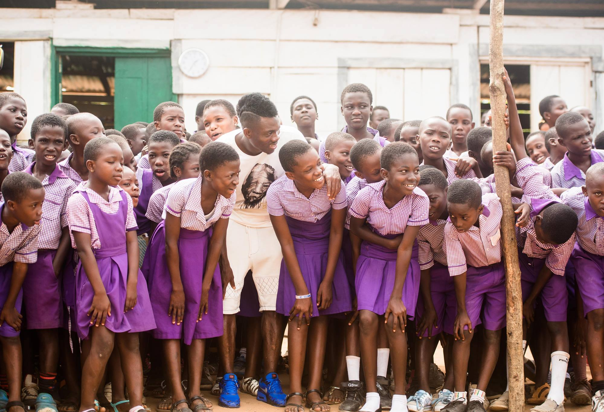 Christian Atsu Ambassador for Arms Around The Child