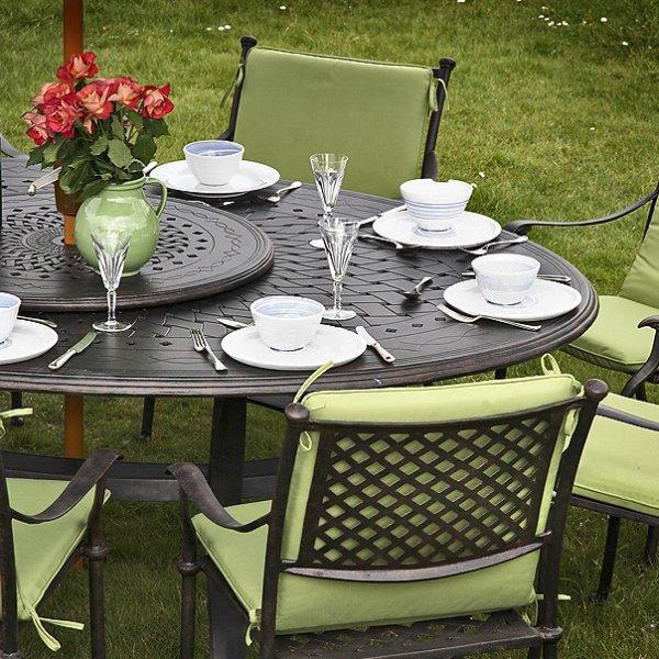 Gloria Table - Antique Bronze (8 seater set)