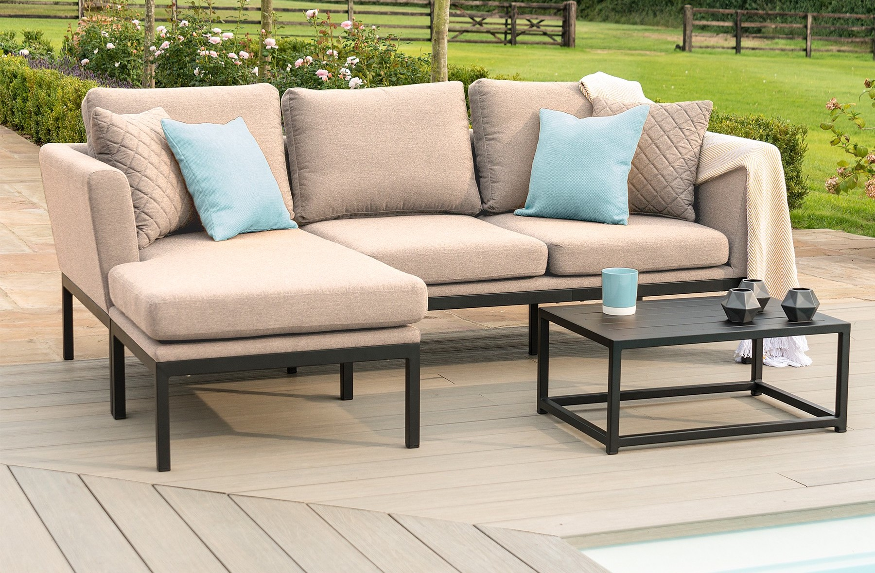 The Pulse Outdoor Sofa Set from Maze at Next.co.uk