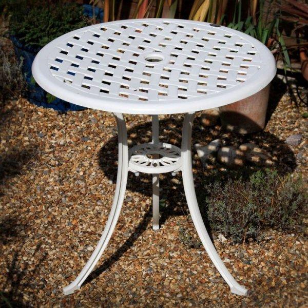 Betty Bistro Table - White (2 seater set)