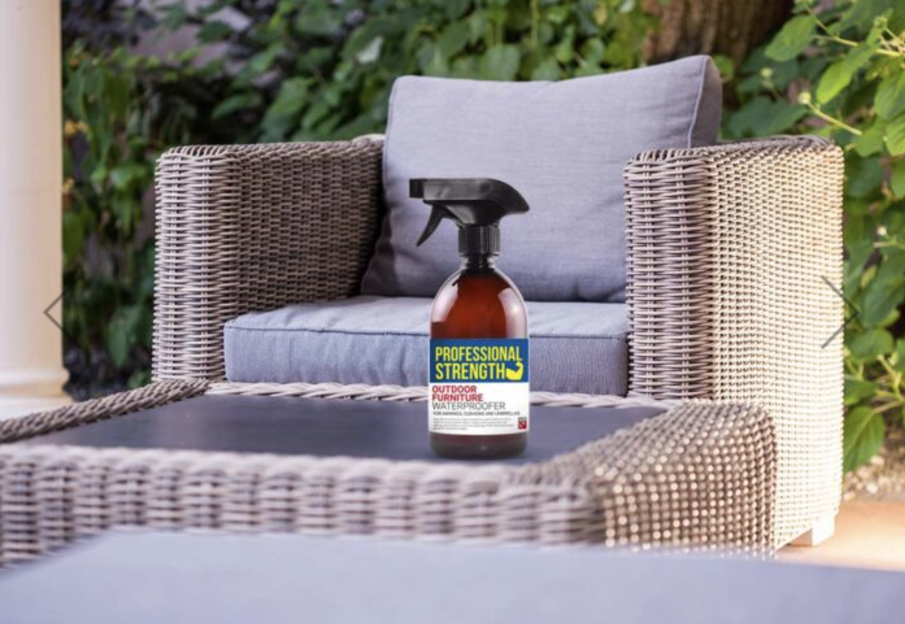 Professional Strength Outdoor Furniture Protector