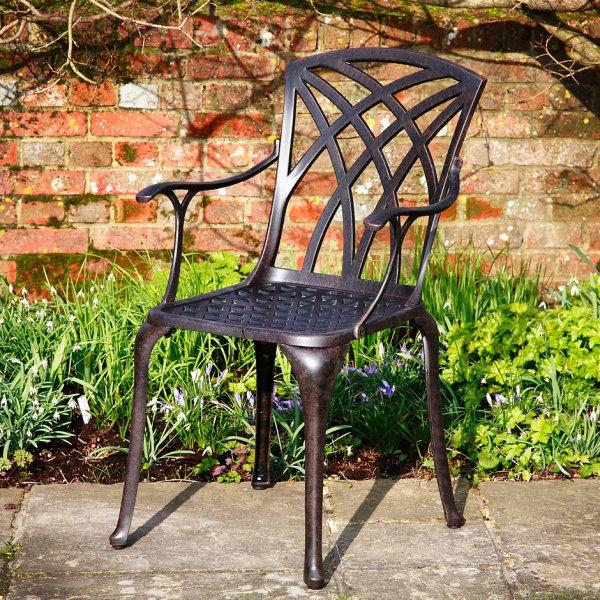 April_Self_Assembly_Metal_Garden_Chair_Cast_Aluminium_1