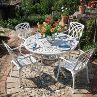 Alice Table - White (4 seater set)