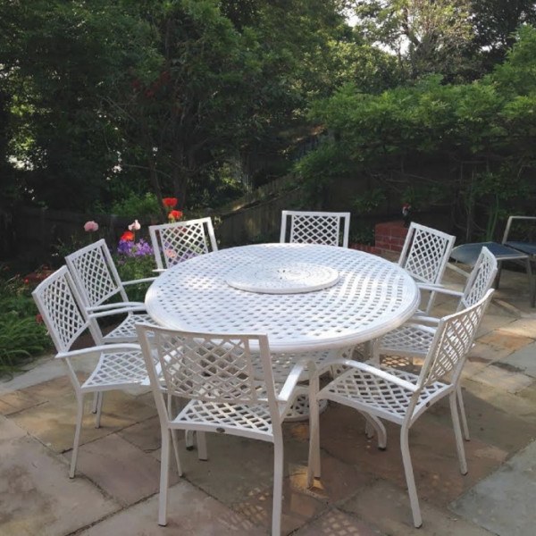 Summer Table - White (8 seater set)