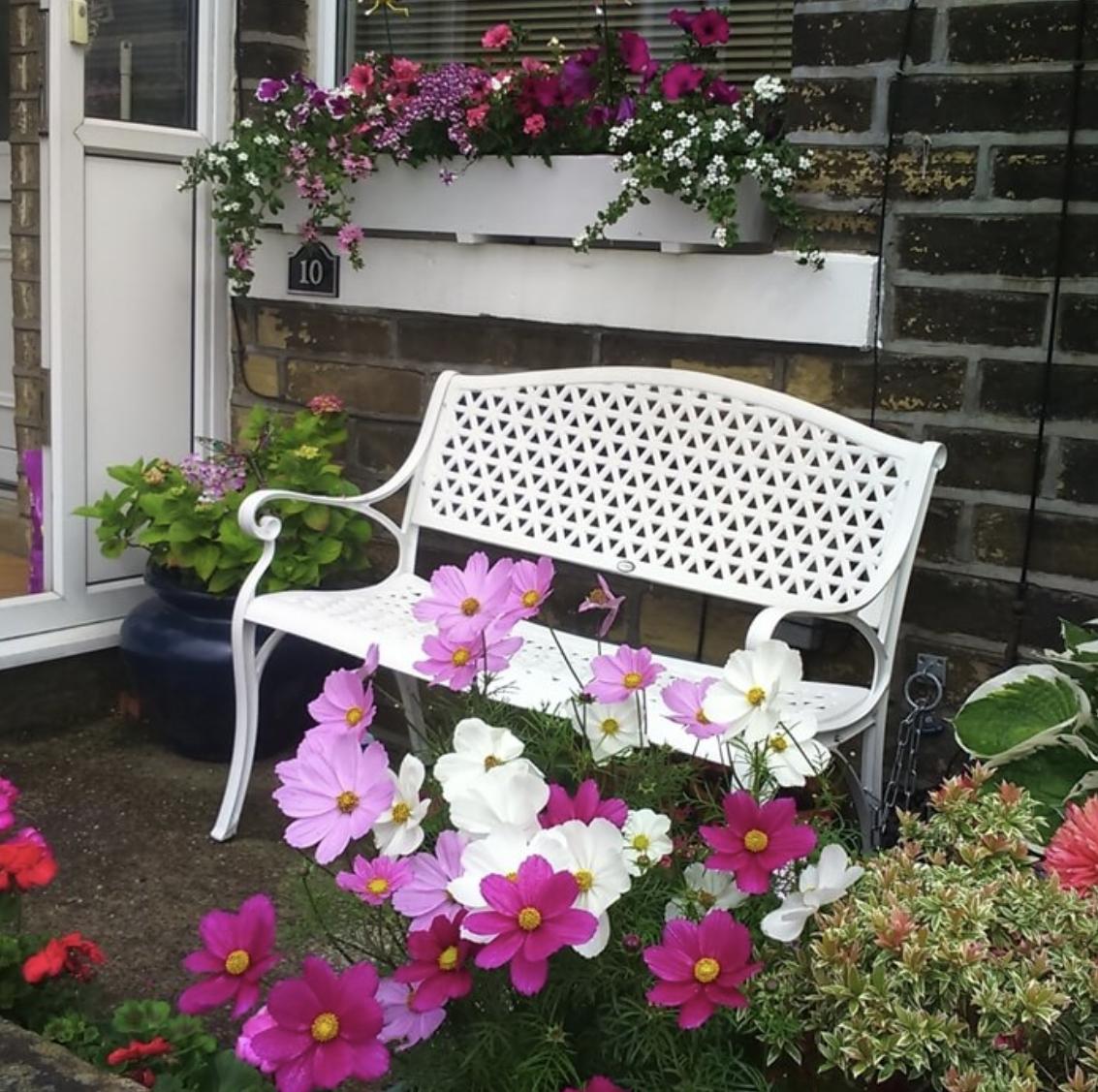 July Garden Bench