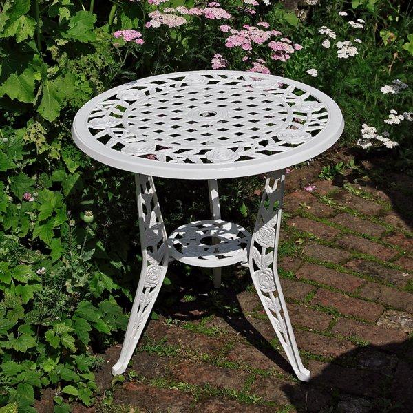 White_Rose_Bistro_Table_Cast_Aluminium_Garden_Furniture_1