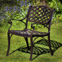 Kate Chair - Antique Bronze