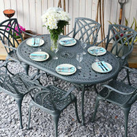 June Table - Slate (6 seater set)