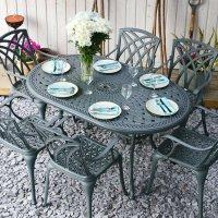 June Table - Slate (6 seater set)