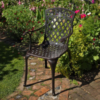 Rose Chair - Antique Bronze