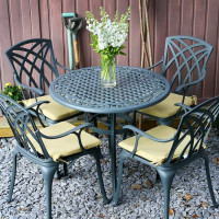 Hannah Table - Slate (4 seater set)