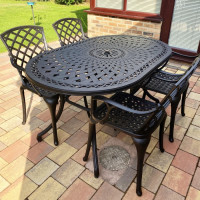 June Table - Antique Bronze (4 seater set)