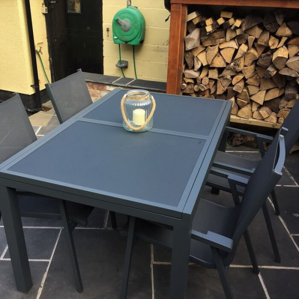6_Seater_Modern_Aluminium_Glass_Top_Grey_Extending_Garden_Furniture_Outdoor_Dining_Table_Set_10