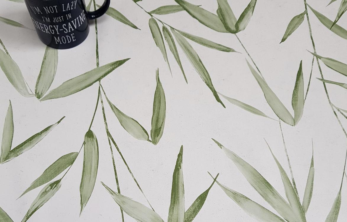 Palm Leaf Tablecloth