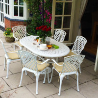June Table - White (6 seater set)