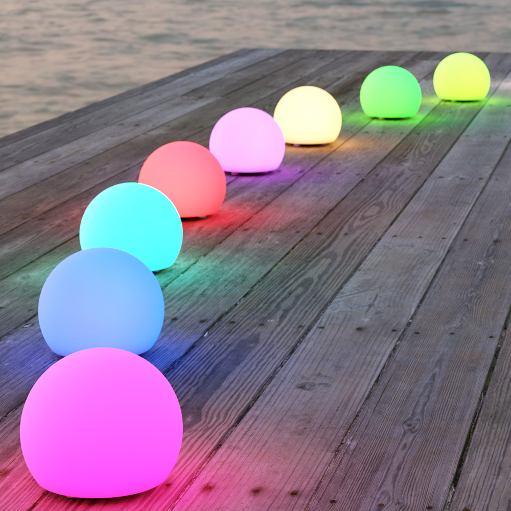Shape Outdoor USB Sphere Lights